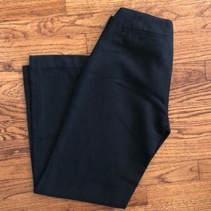 Black wide leg GAP slacks